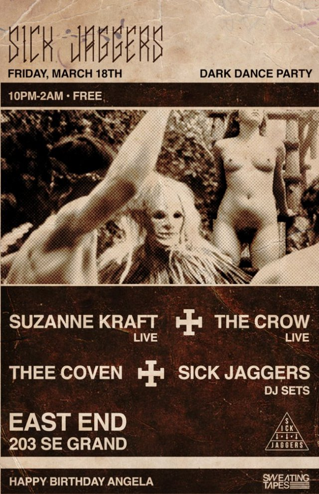 Sick Jaggers w/Suzanne Kraft